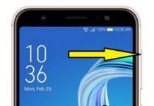 Asus Zenfone Max M1 ZB555KL kurtarma modu