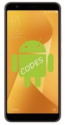 Asus Zenfone Max Plus M1 ZB570TL kodlar