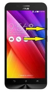 Asus Zenfone Max ZC550KL format atma