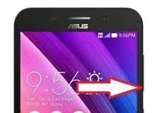 Asus Zenfone Max ZC550KL güvenli mod