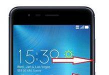 Asus Zenfone Zoom S ZE553KL ekran görüntüsü alma