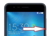 Asus Zenfone Zoom S ZE553KL kurtarma modu