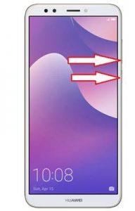 Huawei Y7 Prime 2018 güvenli mod