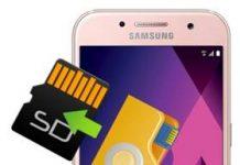 Samsung Galaxy A3 2017 dosyaları SD karta taşıma