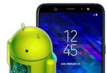 Samsung Galaxy A6 Plus güncelleme