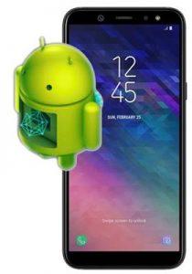 Samsung Galaxy A6 güncelleme