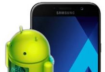 Samsung Galaxy A7 2017 güncelleme