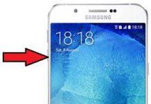 Samsung Galaxy A8 2015 güvenli mod