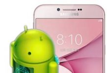 Samsung Galaxy A8 2016 güncelleme