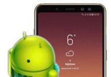 Samsung Galaxy A8 Plus 2018 güncelleme