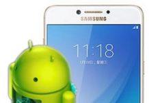 Samsung Galaxy C7 Pro güncelleme