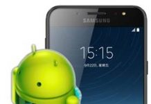 Samsung Galaxy C8 güncelleme
