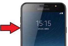 Samsung Galaxy C8 güvenli mod