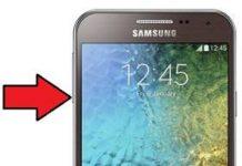 Samsung Galaxy E5 güvenli mod