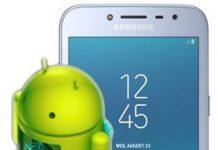 Samsung Galaxy J2 Pro 2018 güncelleme
