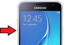 Samsung Galaxy J3 2016 güvenli mod