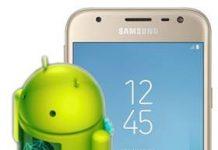 Samsung Galaxy J3 2017 güncelleme
