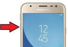 Samsung Galaxy J3 2017 güvenli mod