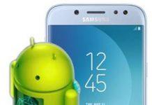 Samsung Galaxy J5 2017 güncelleme