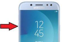 Samsung Galaxy J5 2017 güvenli mod
