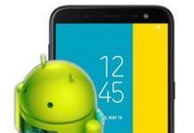 Samsung Galaxy J6 güncelleme