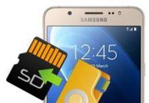 Samsung Galaxy J7 2016 dosyaları SD karta taşıma