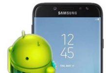 Samsung Galaxy J7 2017 güncelleme