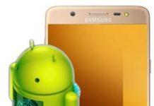 Samsung Galaxy J7 Max güncelleme
