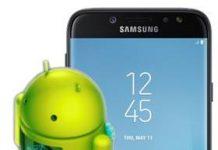 Samsung Galaxy J7 Pro güncelleme