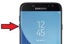 Samsung Galaxy J7 Pro güvenli mod