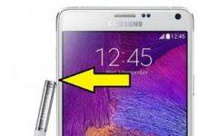 Samsung Galaxy Note 4 güvenli mod