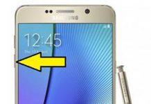 Samsung Galaxy Note 5 güvenli mod