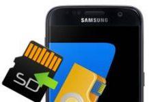 Samsung Galaxy S7 dosyaları SD karta taşıma