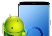 Samsung Galaxy S9 Plus güncelleme