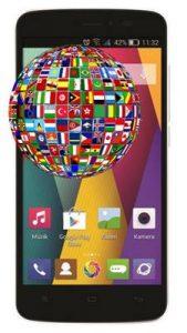 General Mobile Discovery 2 Mini dil değiştirme