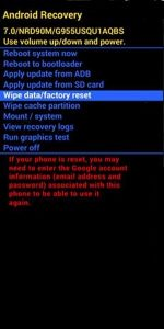 General Mobile Recovery Mod