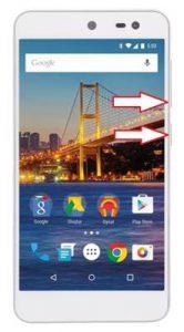 General Mobile GM 4G ekran görüntüsü alma