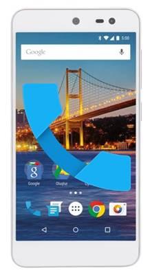 General Mobile GM 4G gelen arama ekranı