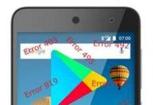General Mobile GM 5 Google Play hataları