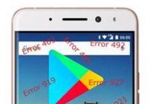 General Mobile GM 5 Plus Google Play hataları