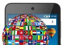 General Mobile GM 5 dil değiştirme