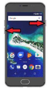 General Mobile GM 6 ekran görüntüsü alma