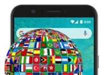 General Mobile GM 8 dil değiştirme
