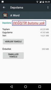 General Mobile Uygulamaları Hafıza Kartına Taşıma