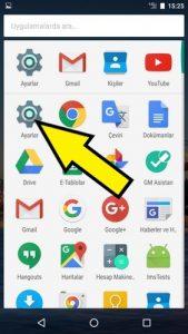 General Mobile ağ ayarları sıfırlama