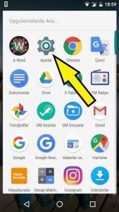 General Mobile dosyaları hafıza kartına taşıma