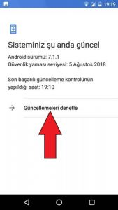 General Mobile güncelleme