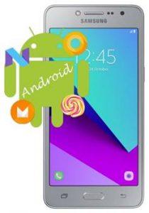 Samsung Galaxy J2 Prime Android sürümü öğrenme