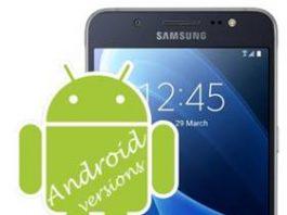 Samsung Galaxy J5 2016 Android sürümü