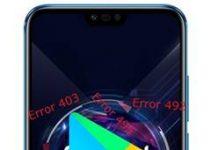 Huawei Honor 10 GT Google Play Store hataları